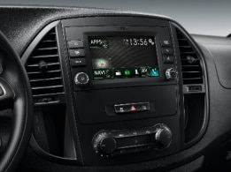 Vito Tourer, Audio 40